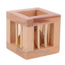 Intelligence Wooden Wood Puzzle Magic Toy Brain Teaser Kid Gift Table Desk Decor