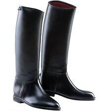Equi-Theme Basics Kids Riding Boots Leather Black