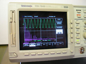 Tektronix TDS784D  1GHz,  4 GS/s, 4-Ch, DPO Color Oscilloscope