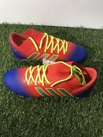 Adidas Nemeziz Messi 18.3 J Red/blue soccer cleats Size 3 FG Boy's Only
