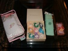 Set of Bath Bombs, Salts, Bath Set with Pillow, Mitt, Mask - All New in Packages