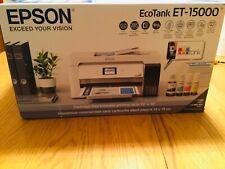 🌱 Epson EcoTank  ET-15000 All-In-One Wireless Inkjet Printer NEW SHIPS NOW!🌱