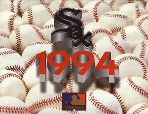 Chicago White Sox--1994 Calendar/Schedule--Kelloggs Frosted Flakes