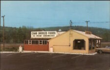 Canton CT Crossroads Restaurant Rte 44 Postcard