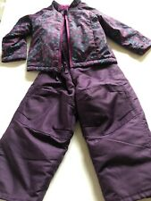 Girls Circo Coat And Snow Pants Purple Size 3T