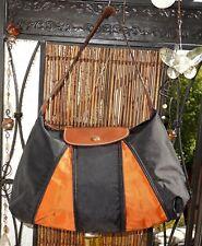 Original LongchampTasche Shopper in Größe verstellbar erweiterbar schwarz orange