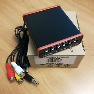 ImmersionRC Powerbox V2 - Power Box with A/V Distribution(Black Version)
