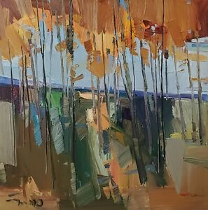 JOSE TRUJILLO Oil Painting IMPRESSIONISM Contemporary COLLECTIBLE FINE ART NR