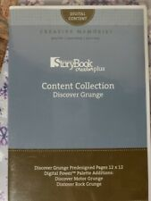 Creative Memories Storybook Creator Cd Software Content Discover Grunge