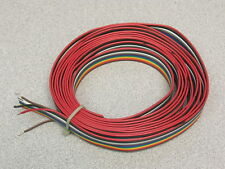 1 Lot:10 Feet of 12 Conductor Flat Cable 10 Colors Pull Apart #20 Hookup Wire