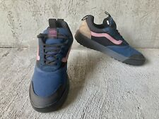 VANS UltraRange, Gibraltar Sea Blue Ebony Black Pink, Mens Sneaker Shoes Size 11