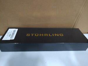 Stuhrling Original Men's 581.01 Quartz Leather Strap Watch