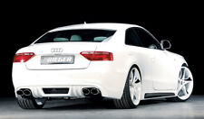 Rieger CUP Diffusor für Audi A5 B8 S5 S-Line Coupé Cabrio Heckansatz Ansatz HSA