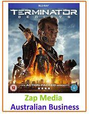 Terminator Genisys  **Blu-ray - BRAND NEW & Region Free**