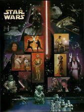 STAR WARS SOUVENIR 15 CHARACTER 41c STAMP SHEET SET US 2007 MNH FINE SCOTT #4143