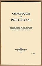 Colloque de la Société des amis de Port-Royal- Pascal