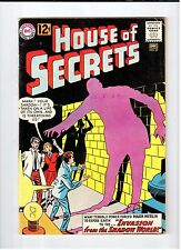 DC Comics HOUSE OF SECRETS #57 Dec 1962 vintage comic VG+ condition