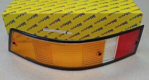 NEW REPRODUCTION PORSCHE 911 930 LEFT REAR AMBER EUROPEAN TAIL LIGHT LENS