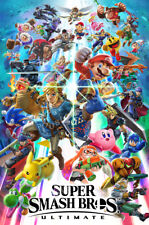 RGC Huge Poster - Super Smash Bros. Ultimate Nintendo Switch Glossy - NVG230