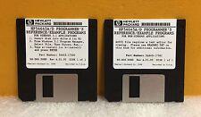 HP/Agilent 54645-68700 Set of 2 Software Disks for 54645A/D Oscilloscopes, New!