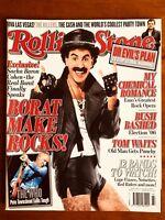 ROLLING STONE AUS JAN 07 Borat, Killers, The Who, Tom Waits, My Chemical Romance