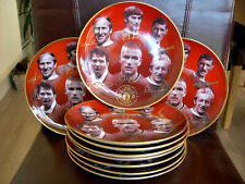 "8/"" MANCHESTER UNITED PLATE DANBURY MINT BARCLAYS CHAMPIONS 2006-2007 PREMIERSHIP"