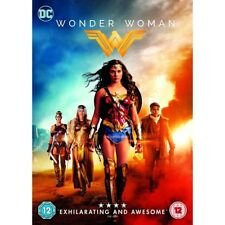 Wonder Woman 2017 Gal Gadot Chris Pine UK R2 DVD F1
