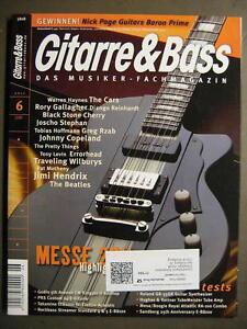 GITARRE & BASS 2011 # 6 - WARREN HAYNES RORY GALLAGHER DJANGO REINHARDT BEATLES