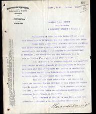 """REIMS (51) COMPTOIR DE L'INDUSTRIE / QUINCAILLERIE """"L. LAURENT & CARREE"""" en 1904"""