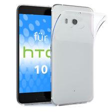 Schutz hülle für HTC 10 Case Silikon Handy Cover transparent