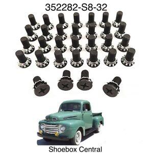 1948 1949 1950 1951 1952 Ford Pickup Truck Door Hinge Screw Kit