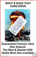 Hard drive Erase Wipe Format Delete HDD PC Laptop Desktop all Win10 8 Vista 7 XP