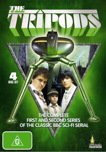 The Tripods Series 1 + 2  BBC Region ALL DVD (4 disc set) NEW SEALED