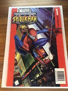 Ultimate Spiderman #1 NEWSSTAND 1st App Ultimate Spider-Man Marvel 2001