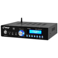 Pyle PDA5BU Bluetooth 200W Stereo Amplifier Receiver with Remote AM/FM MP3 USB A