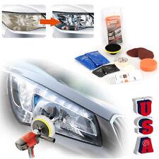 VISBELLA Headlight Lens Restoration Repair Kit Car Light Polishing Cleaner POWER