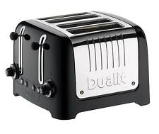 DUALIT 46205 LITE 4 SLICE TOASTER BLACK GLOSS BRAND NEW - SALE