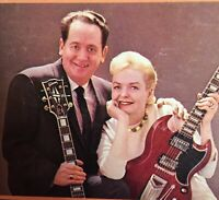 Les Paul and Mary Ford  The Fabulous Vinyl LP Harmony