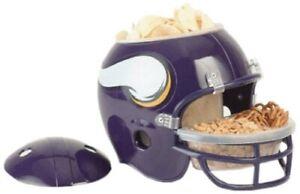 NFL Football Helmet Minnesota Vikings Snack Helmet for Every Footballparty