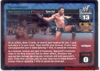 Lightly Played Big Poppa Pump Raw Deal Belly-to-Belly Steinerplex UR Foil