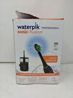 Waterpik Sonic Fusion Flossing Toothbrush & Water Flosser - BLACK