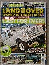 Land Rover Owner International May 2017 Defender 110 Series IIa III Discovery 2