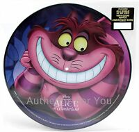 NEW Disney Music Alice in Wonderland Vinyl Record Soundtrack Picture Disc