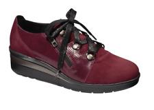 Scholl Rimella Suese Memory Cushion Shoes in Bordeaux Burgundy Various Sizes
