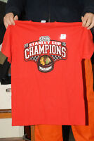 2015 CHICAGO BLACK HAWKS NHL STANLEY CUP CHAMPIONS T SHIRT NEW W TAGS MINT ;