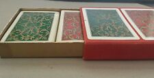 VINTAGE SPANISH PLAYING CARDS BOXED DOUBLE DECK by HERACLIO FOURNIER Great Shape