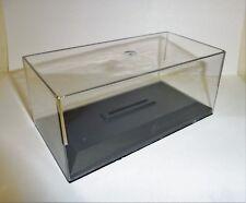 Lot 12 Boites Plexi + socle pour Miniatures 1/43 Haut 8 cm (Camionettes) Neuf