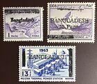 Bangladesh 1971-72 Local Overprints MNH