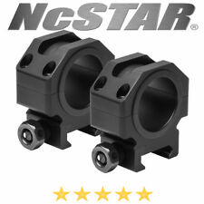 """NcStar VR30T09 Tactical Series 30mm Scope Rings 0.9"""" Optic Centerline Height"""