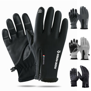 Winter Gloves Men Women Touch Screen Non-Slip Windproof Thermal Cycling Mittens